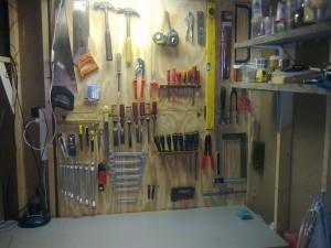 gereedschap-bord