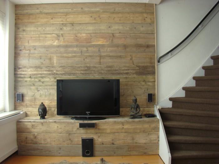Tv meubel maken makkelijk of moeilijk hobby bouwtekening for Steigerhout tv meubel maken