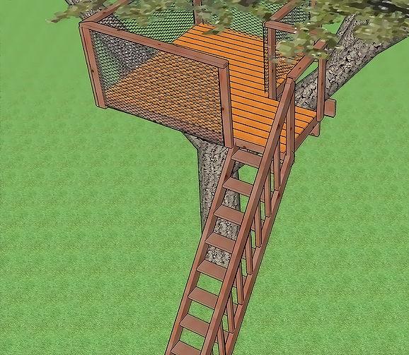 trap-boomhut